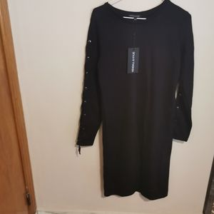 Kendall & Kylie midi dress size L bnwt